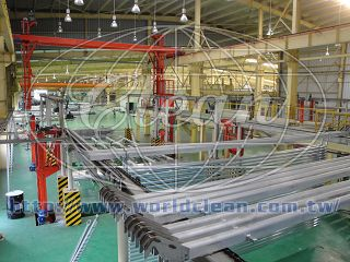 Anodizing Equipment for Window System