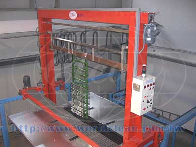 Horizontal Automatic Anodizing Plants for 3C Profile