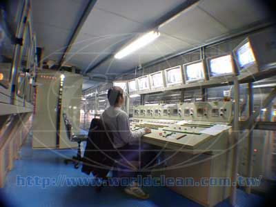 Central Control Room of Automatic Anodizing Plants